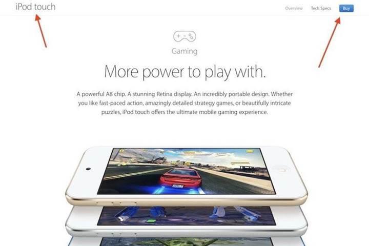 Yeni iPod Touch oyun odaklı mı olacak?