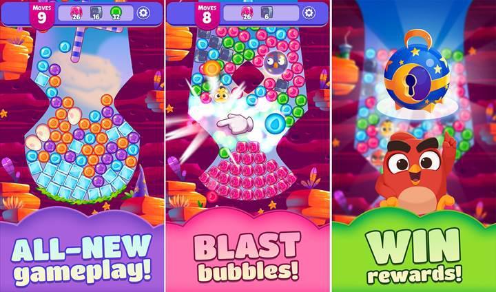 Rovio'nun yeni oyunu  Angry Birds Dream Blast yayınlandı