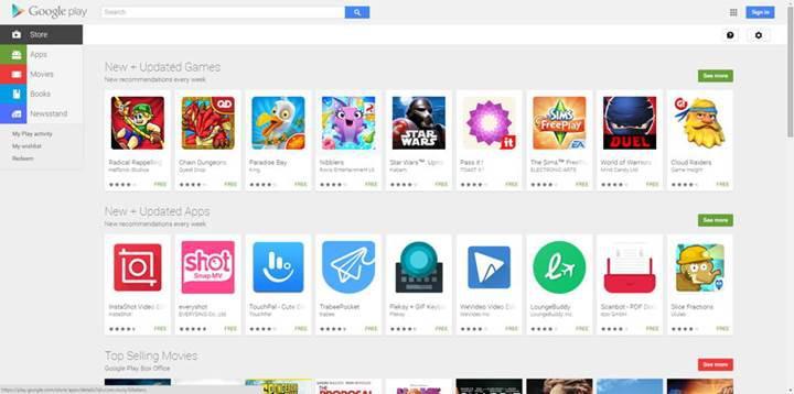 Android Q, uygulamaların eski sürümüne dönmeye izin verebilir