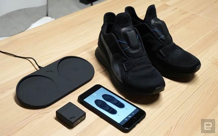 Puma da kendi bağcıklarını bağlayan ayakkabısını tanıttı
