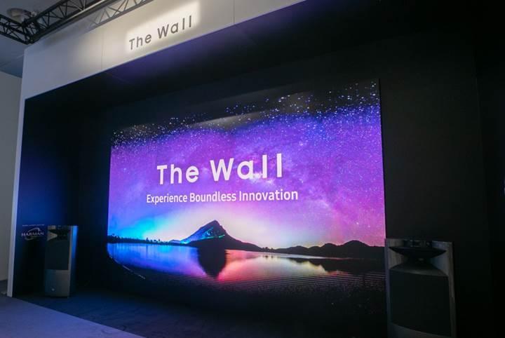 Samsung The Wall konsepti artık 292 inç