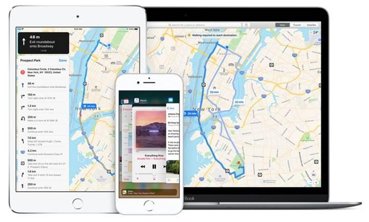 Apple Haritalar'a iç mekan haritaları eklenmeye başladı