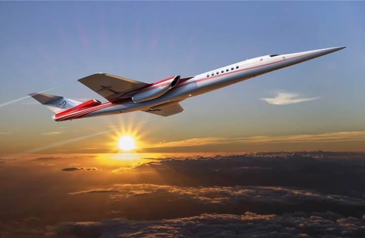 Boeing, dünyanın ilk süpersonik iş jetini üretmek için Aerion ile iş birliğine gidiyor