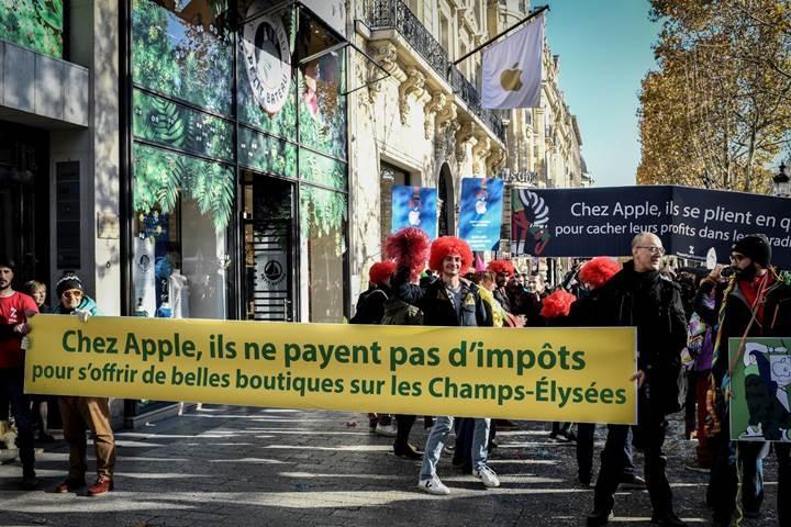 Apple, Fransa'ya 571 milyon dolar vergi ödeyecek