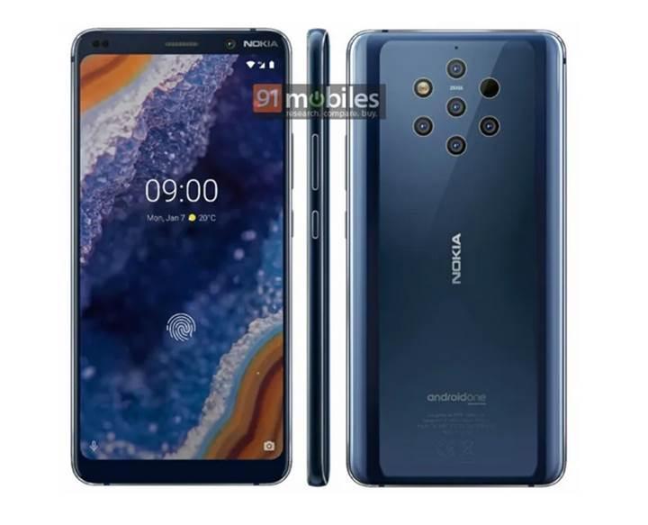 Nokia 9 PureView basın görseli sızdırıldı