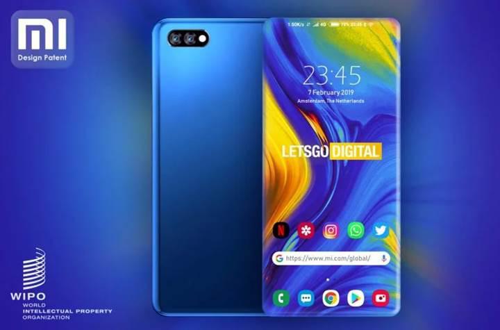 Xiaomi'den dört tarafı kavisli ekrana sahip telefon patenti