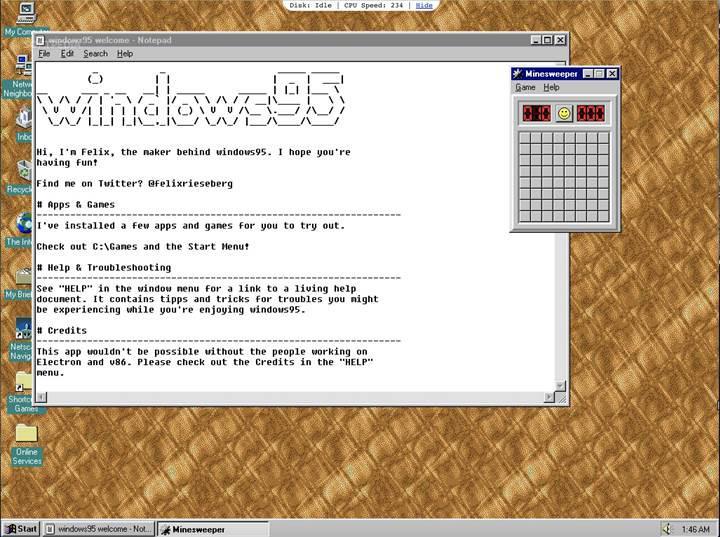 Windows 10'da Windows 95 nostaljisi yaşatan uygulamanın yeni sürümü çıktı