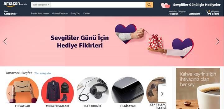 Sevgililer Günü hediye fikirleri Amazon.com.tr'de