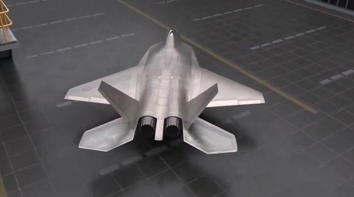 TUSAŞ, milli muharip uçağının yeni bir videosunu yayınladı
