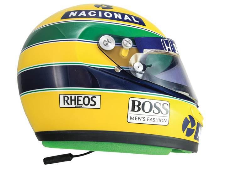 Efsanevi F1 pilotu Ayrton Senna'nın kaskı 185 bin dolarlık fiyatıyla rekor kırdı