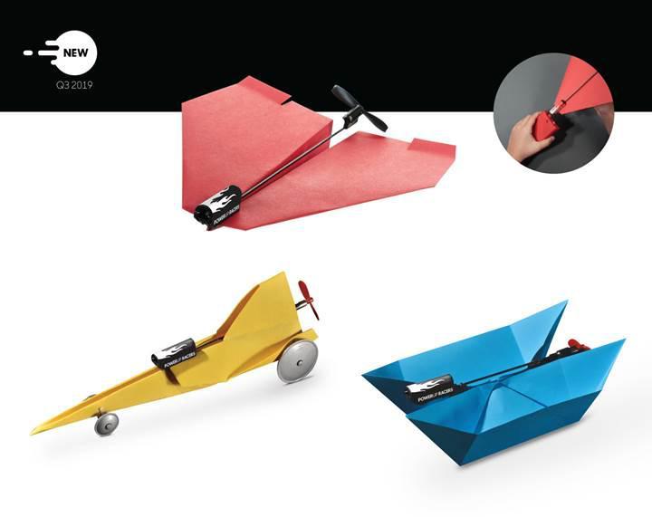 Kâğıt uçaklara hayat veren PowerUp Toys yeni oyuncaklarla karşımızda