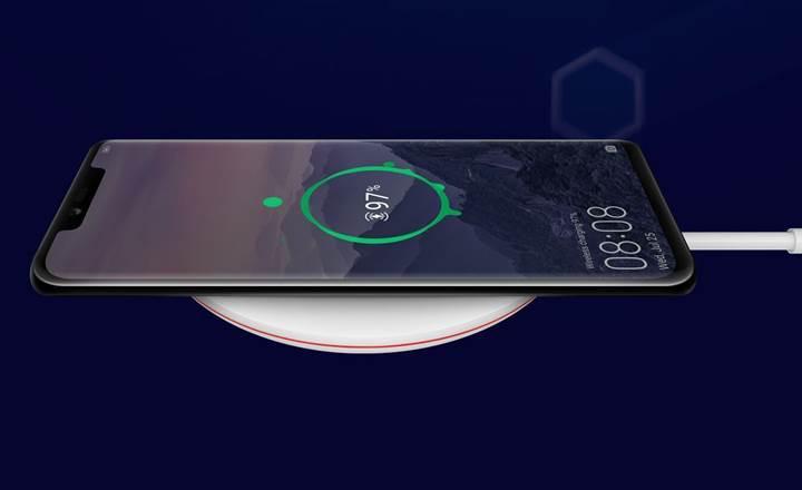 Huawei Mate 20 Pro'nun kablosuz şarj özellikleri neler?
