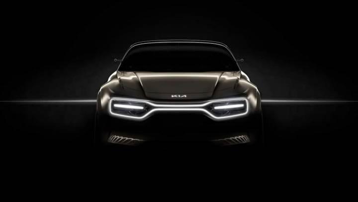 Kia, yeni elektrikli performans aracının ilk teaser görselini paylaştı