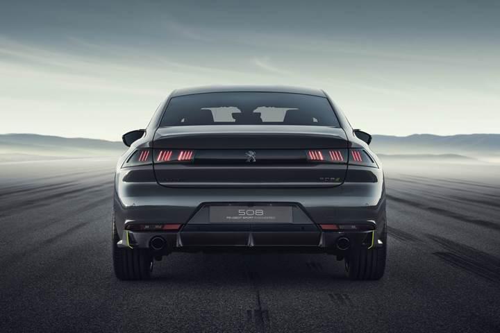 Yeni Peugeot 508 Sport Engineered konsepti tanıtıldı: Yüksek performanslı hibrit