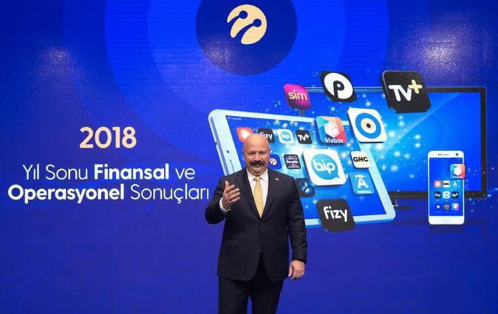 Turkcell, 2018 yılı finansal sonuçlarını açıkladı