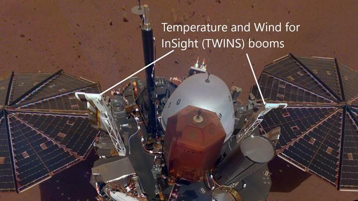Mars'ta hava durumu nasıl? İşte InSight'ın gönderdiği günlük raporlar