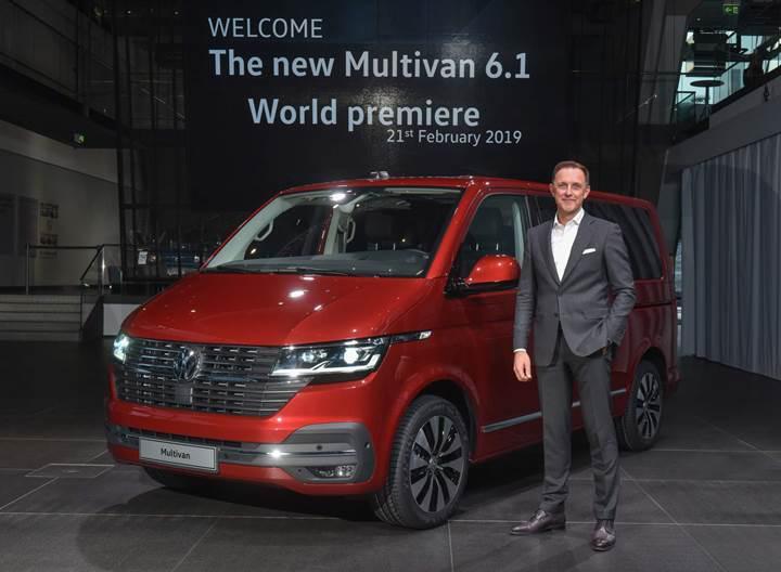2020 Volkswagen Multivan 6.1 yeni teknolojileriyle tanıtıldı