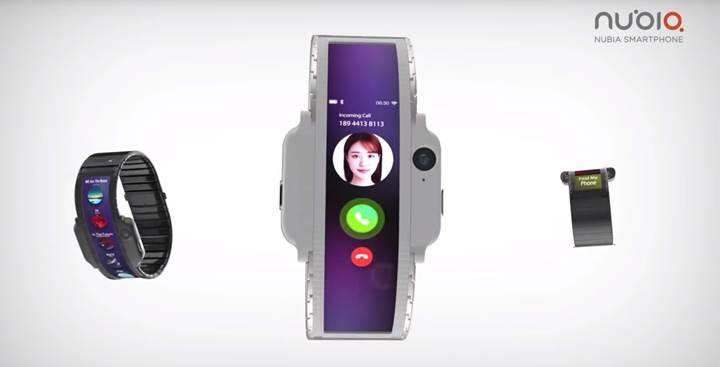 Nubia'nın MWC 2019'da tanıtacağı giyilebilir akıllı telefon için yeni bir video yayınlandı