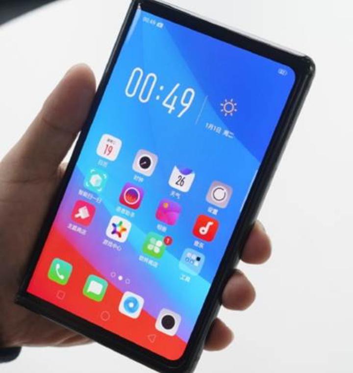Oppo'nun katlanabilir telefonu ortaya çıktı