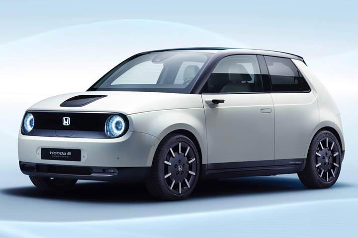 İşte Honda'nın Avrupa'da satışa sunacağı ilk elektrikli otomobil: Honda e Prototype