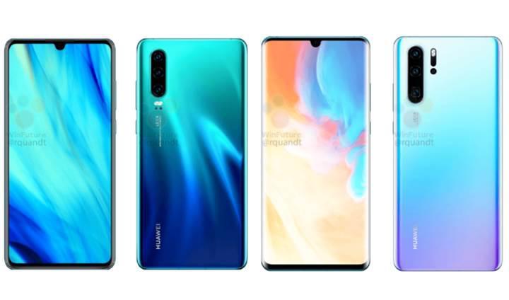 Huawei P30 ve P30 Pro detaylı görselleri sızdırıldı