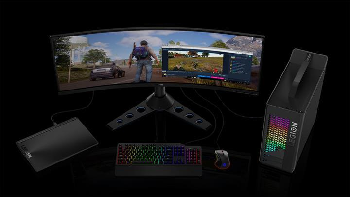 Oyunculara ve profesyonellere: Lenovo ThinkVision P44w monitör