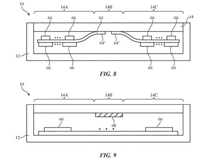 Apple, katlanabilir iPhone'la ilgili ilk patentini aldı