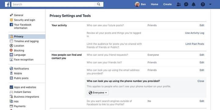 Facebook'un iki faktörlü kimlik doğrulama özelliğinde hata bulundu