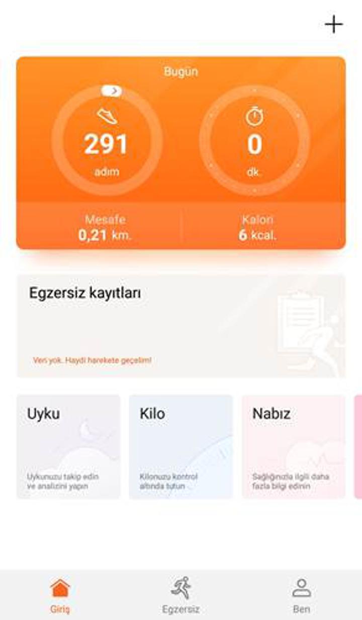 Huawei Mate 20 Pro ile yüklü gelen Huawei Health uygulamasının özellikleri