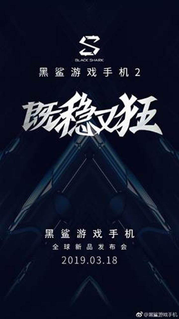 Xiaomi, Black Shark 2'nin tanıtım tarihini açıkladı
