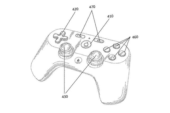 Google'ın çevrimiçi oyun servisi için geliştirdiği oyun kolu ortaya çıktı