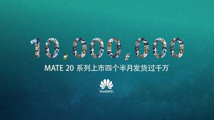 Huawei Mate 20 serisinden büyük başarı