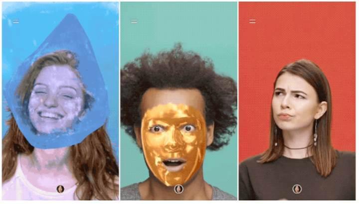 YouTube hikayelerine Snapchat benzeri filtreler eklendi