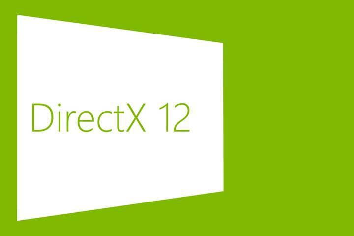 Windows 7'ye DirectX 12 desteği geldi