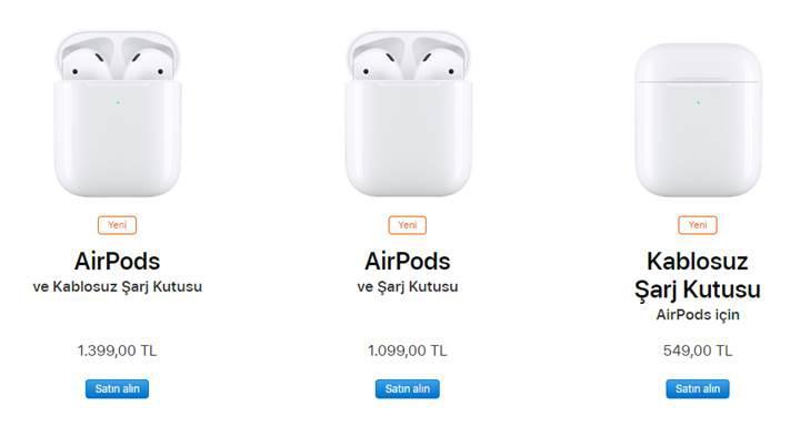 İşte karşınızda yeni Apple AirPods
