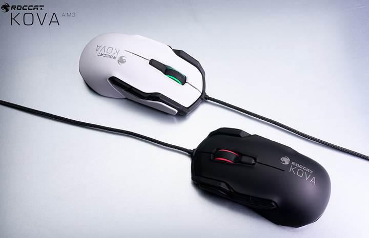 Roccat aydınlatmalı Kova AIMO oyuncu faresini duyurdu