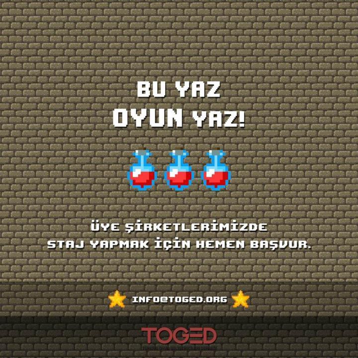 Türk oyun firmalarında staj imkanı!
