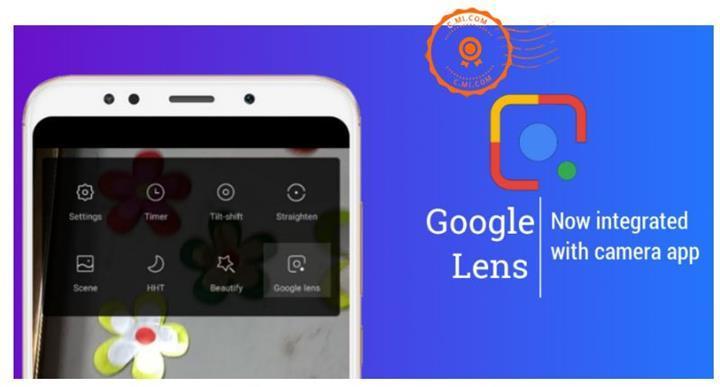 Xiaomi, Google Lens'i MIUI kamera uygulamasına entegre etti