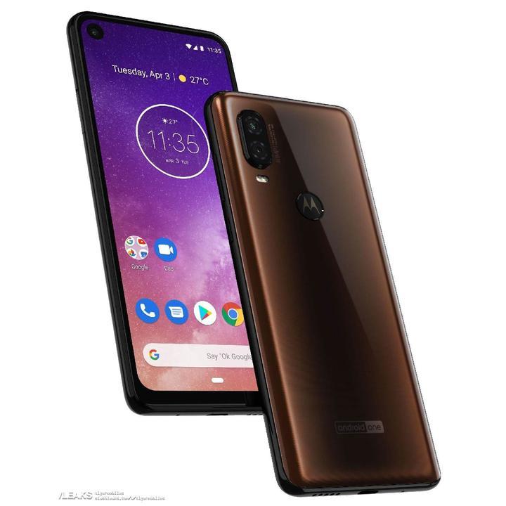 Motorola One Vision delikli ekran ve 3.290 mAh pille gelecek