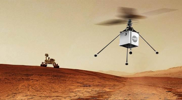 NASA'nın Mars'a göndereceği helikopter büyük potansiyel taşıyor