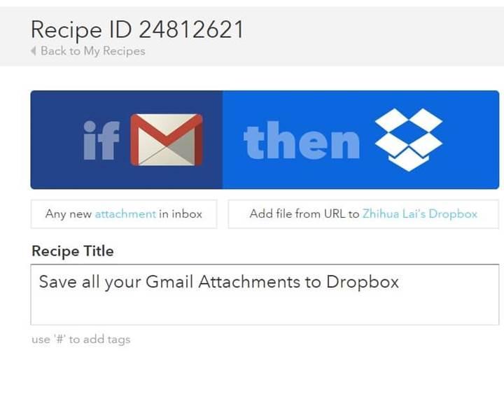 Gmail değişiklikleri IFTTT ayarlarını olumsuz etkiledi