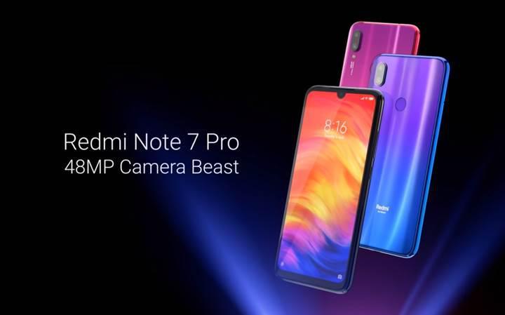 Redmi Note 7 Pro global pazarda satışa sunulmayacak