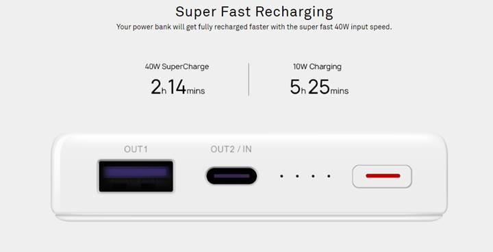 Huawei'nin 40W şarj destekli yeni powerbank'i dizüstü bilgisayarları bile şarj edebiliyor