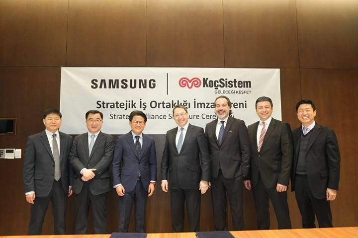 Koçsistem ve Samsung arasında stratejik iş birliği