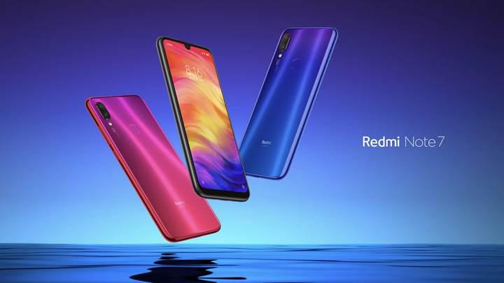 Xiaomi'nin uygun fiyatlı modeli Redmi Note 7 Türkiye'de!