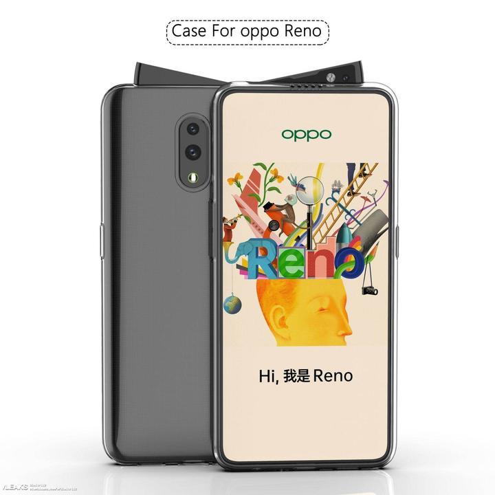 Oppo Reno'nun diyagonal açılan ön kamerası işte böyle görünecek [video]