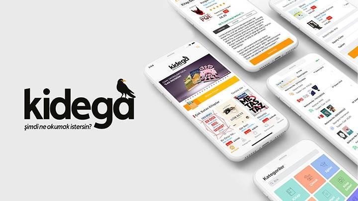 Kidega Mobil Uygulaması kitapseverlerle buluşuyor