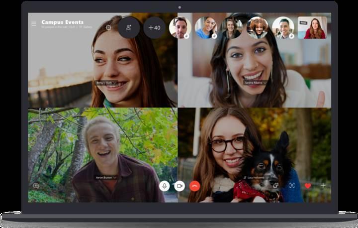 Skype grup sohbet limiti 50 kişiye çıkarıldı