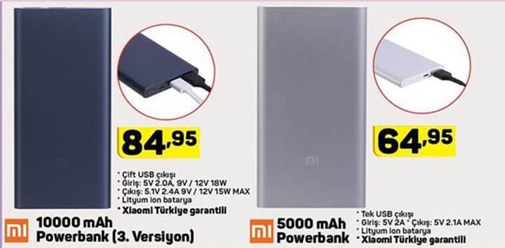 Haftaya A101 ve BİM marketlerde akıllı telefon, powerbank ile fitness bilekliği geçidi var