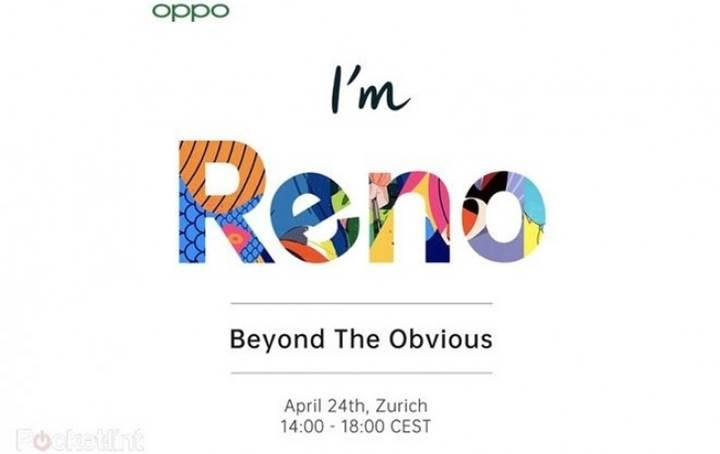 Oppo Reno, 24 Nisan'da Zürih'te tanıtılacak
